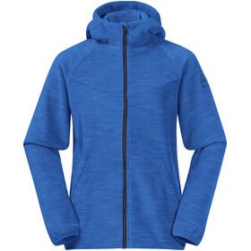 Bergans Hareid Jacket Youth strong blue melange/navy